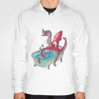 kraken Hoodies featuring kraken by Caramela