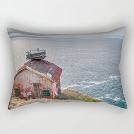 The lighthouse keeper's house Rectangular Pillow