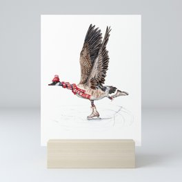 Canada Goose Figure Skating Mini Art Print