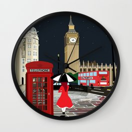 London Westminster Wall Clock