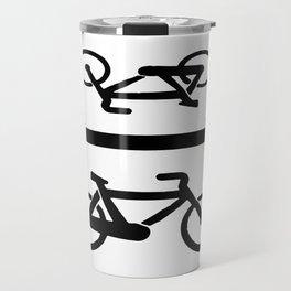 Bike lane Travel Mug