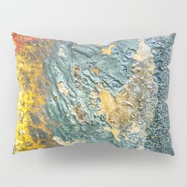 Colorful Abstract Texture Pillow Sham