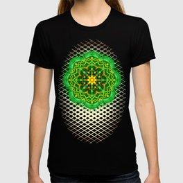 Mandala Zen Greenery Seamless Pattern Design T-shirt