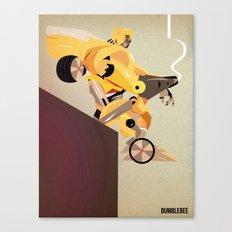 Oops (BumbleBee) Canvas Print