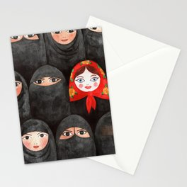 RUSSIAN IN ARABIC WORLD Stationery Cards