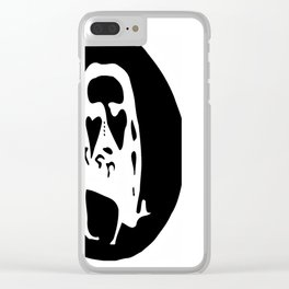 Optical Illusion - After Image - Jesus Christ Clear iPhone Case