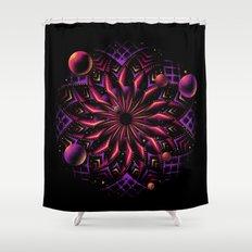 Cosmic Eye Shower Curtain