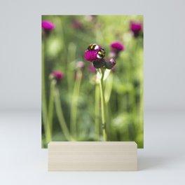Pink and Green Mini Art Print