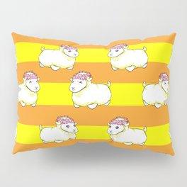 Golden Mr. Fluffs Pillow Sham
