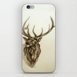 Elk Portrait - In the Roar iPhone Skin