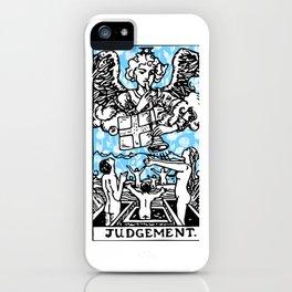 Tarot Floral Print - Judgement iPhone Case