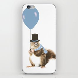 party squirrel iPhone Skin