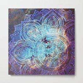 Space mandala 16 Metal Print