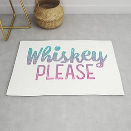 Whiskey Please! Rug