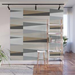Scandinavian Geometry Pattern grey #Homedecor Wall Mural