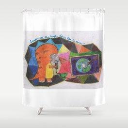 Imagine Dino Shower Curtain