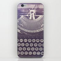 typewriter iPhone & iPod Skins featuring Typewriter by Jessica Torres Photography