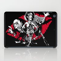 rocky horror iPad Cases featuring Rocky Horror Gang by Billy Allison