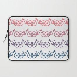mountain bike MTB cycling mountain biker cycling bicycle cyclist gift Laptop Sleeve