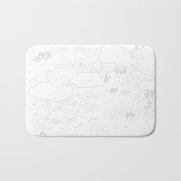 land of 15 towns and a cemetary Bath Mat