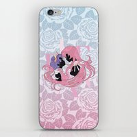 utena iPhone & iPod Skins featuring Utena la filette revolutionnaire by Neo Crystal Tokyo