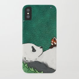 My Neighbor Panda iPhone Case