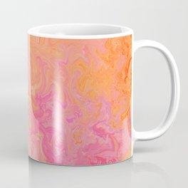 Swirling Warm Paint Colors Coffee Mug