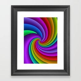 fluid -81- Framed Art Print