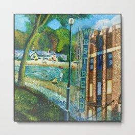 West Bend Park Painting Metal Print