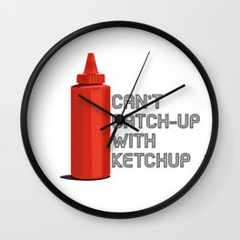 Ketchup Pride - Condiment Race Catsup Wall Clock
