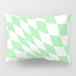 Warped Check  Pillow Sham