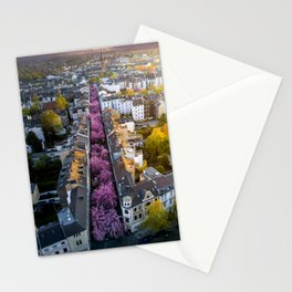 Colorful Street Stationery Cards