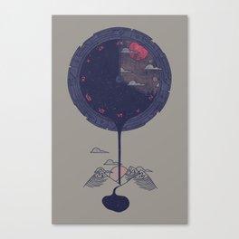 Night Falls Canvas Print
