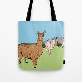 Llama-rama Tote Bag
