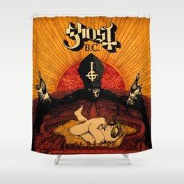 ghost bc infestissumam 2021 Shower Curtain