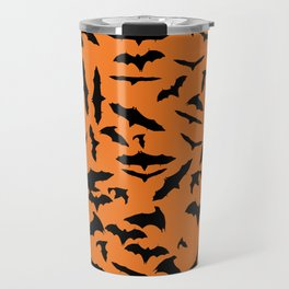 Bats Halloween Travel Mug