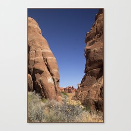 Mountain Clearing Canvas Print