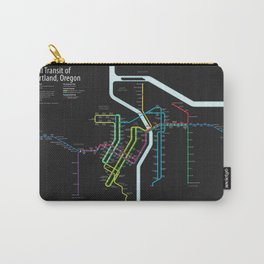 Rail Transit of Portland, Oregon Carry-All Pouch