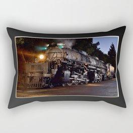 UP 4014. Union Pacific.  Steam Train Locomotive. Big Boy. © J. Montague. Rectangular Pillow