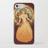 nouveau iPhone & iPod Cases featuring Daisy Nouveau by Megan Lara