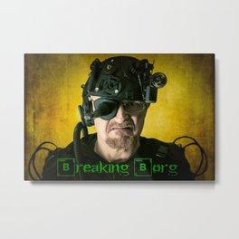 Breaking Borg Metal Print