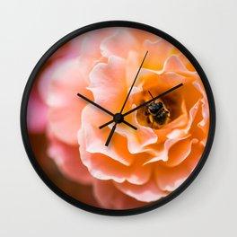 floral shades Wall Clock