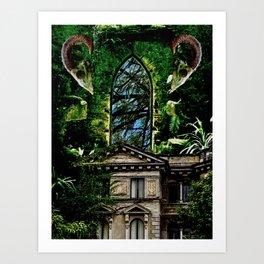 Hoarder's Corridor Art Print