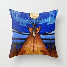 Returning Home Throw Pillow