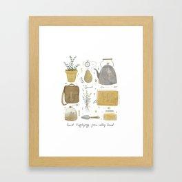 House of the True Framed Art Print