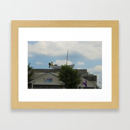 Plymouth Kitch Framed Art Print