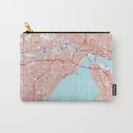 Vintage Map of Jacksonville Florida (1964) Carry-All Pouch