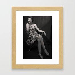 Cinema Diva Framed Art Print