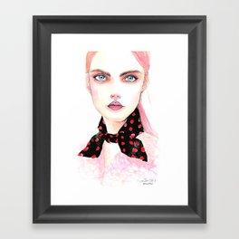 Como siempre soñé Framed Art Print