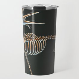 Megaloceros Giganteus Skeletal Study (No Labels) Travel Mug